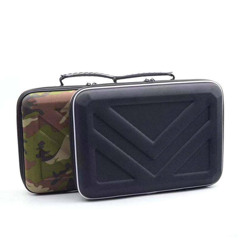 Portable Carry Case For Hyperice Hypervolt Two-piece Set Waterproof EVA Scratch Proof Anti Shock Accessories
