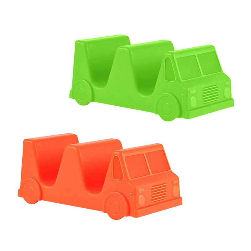 Creative Storage Shelf Mexican Food Truck Tray Taco Holder Tortilla Roll Clips Car Shape Pancake Rack Kitchen Gadget Accessories