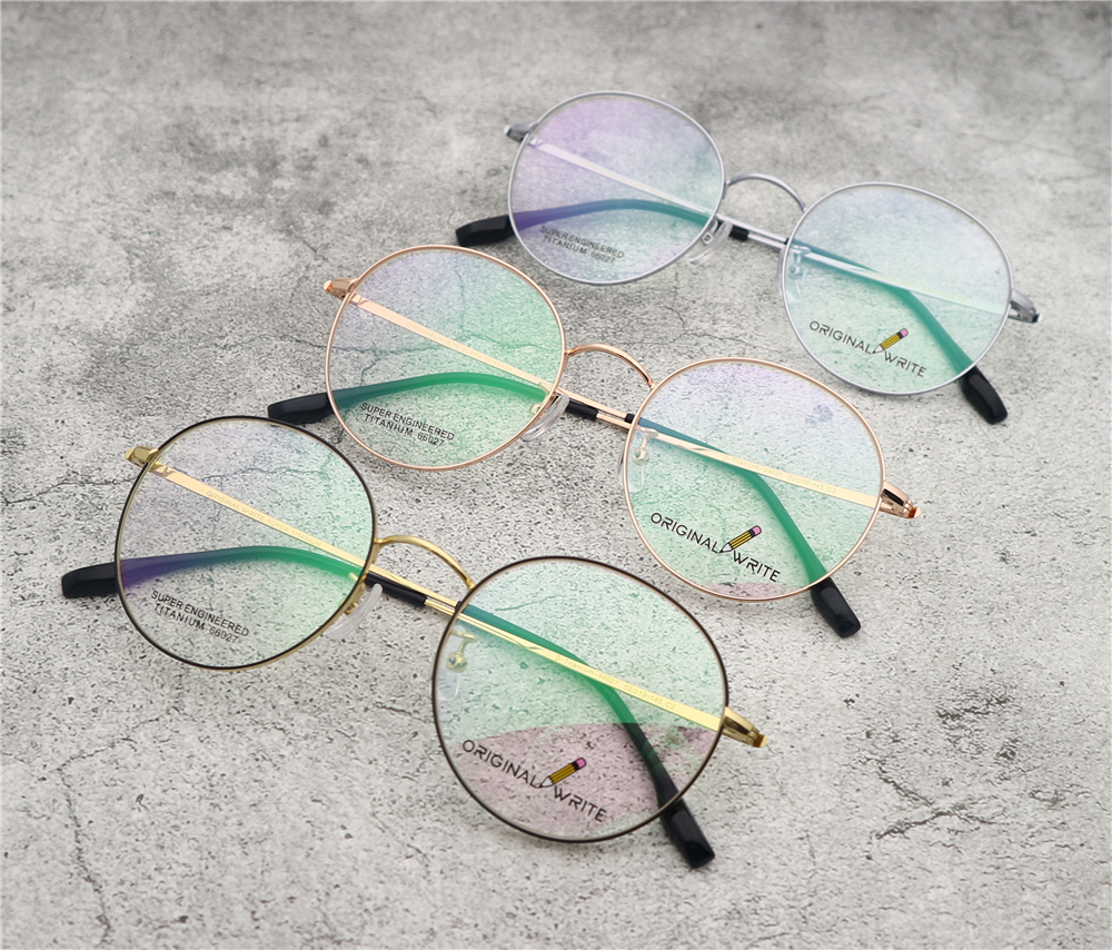 Fashion Vintage irregular shape Eyeglasses Frame Vintage Mens Womens Clear Lens Eyeglasses Glasses