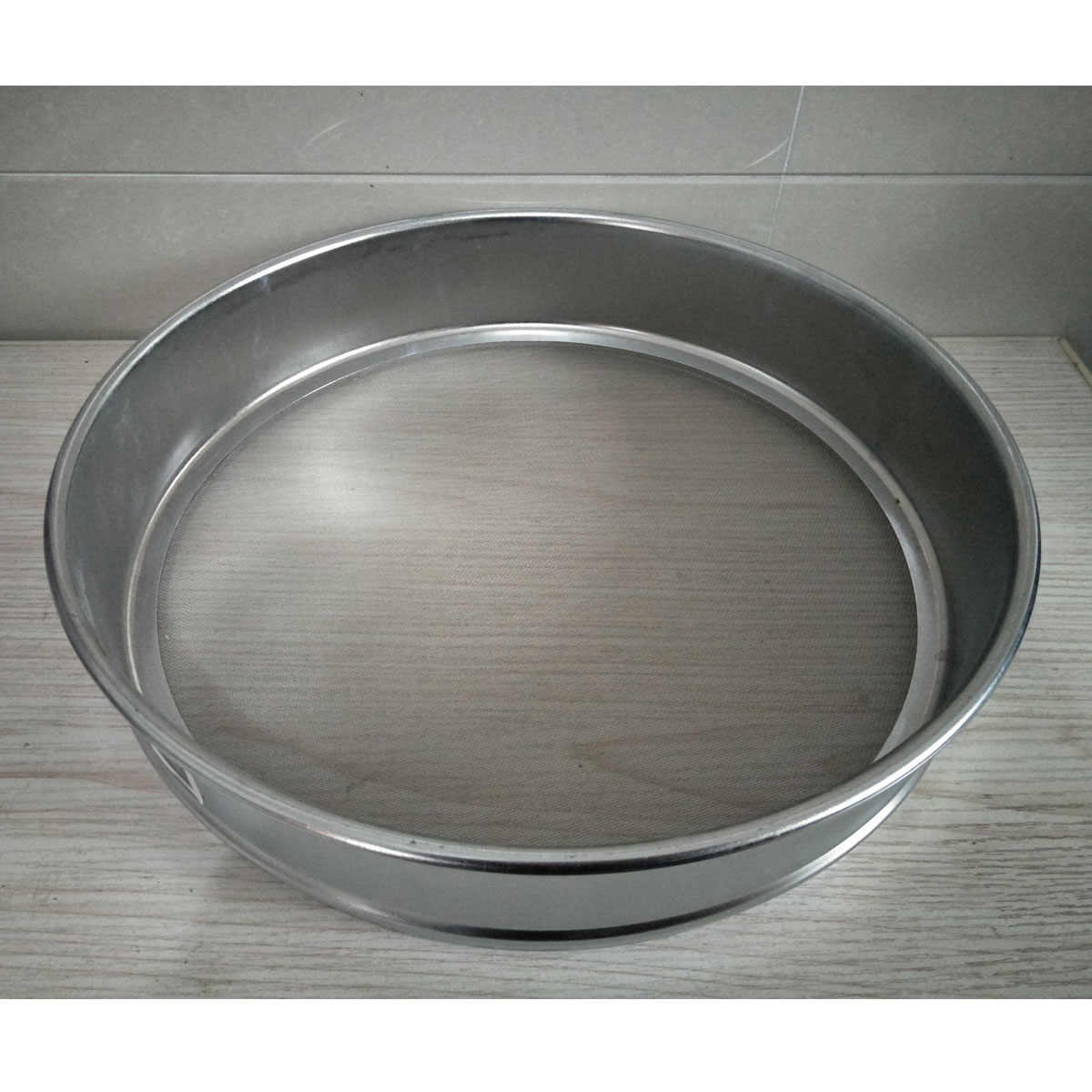 UK 4-100 Mesh 4.75-0.15mm Aperture Lab Standard Test Sieve Stainless Steel Dia