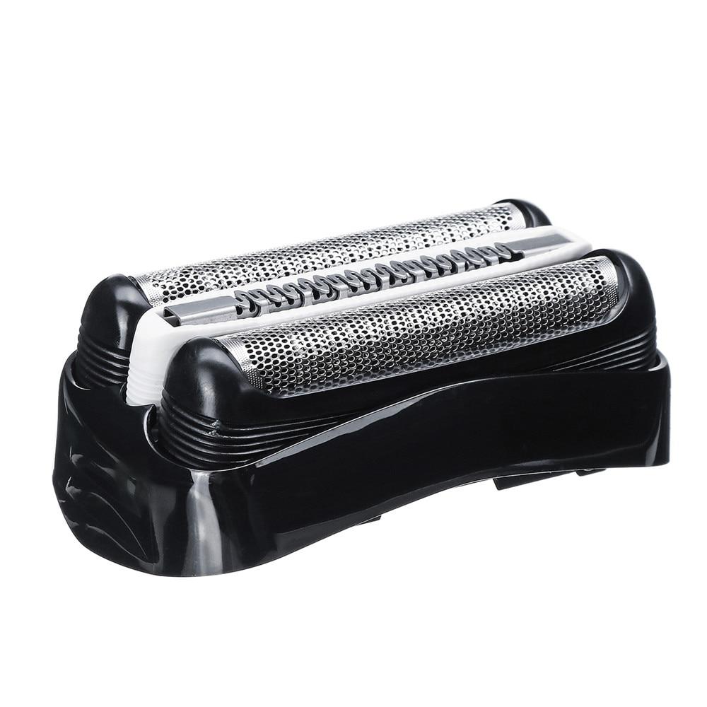 Máquina de hoja de papel de la cabeza para Braun Serie 3 32B 3090cc 3050cc 3040 s 3020 de 340 de 320 hombre de afeitar cabeza de negro de papel de aluminio