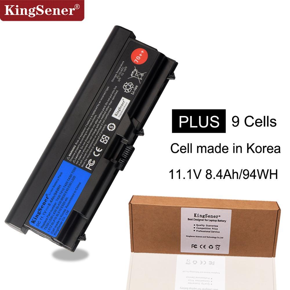 KingSener Corée Cellulaire Nouvel Ordinateur Portable batterie pour lenovo ThinkPad T430 T430I T530 T530I W530 SL430 SL530 L430 L530 45N1007 45N1006