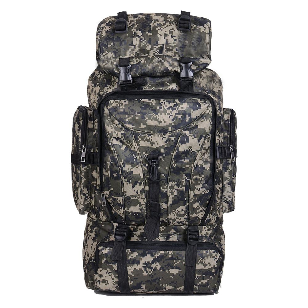 Nylon 70L Large Capacity Sports Backpack Bag Camouflage Multi Functional Big Bags For Travel Outdoor Hiking Backpacks RucksackNylon 70L Large Capacity Sports Backpack Bag Camouflage Multi Functional Big Bags For Travel Outdoor Hiking Backpacks Rucksack