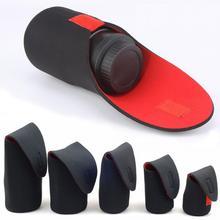 5 размеров сумка для объектива камеры из неопрена водонепроницаемая сумка для объектива камеры чехол s m l xl XXL для Canon DSLR сумка для объектива камеры
