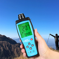 LCD Gas Detector Gas Analyzer Oxygen Meter Digital Portable Automotive O2 Monitor Detector Handheld Oxygen Meter With Smart Chip