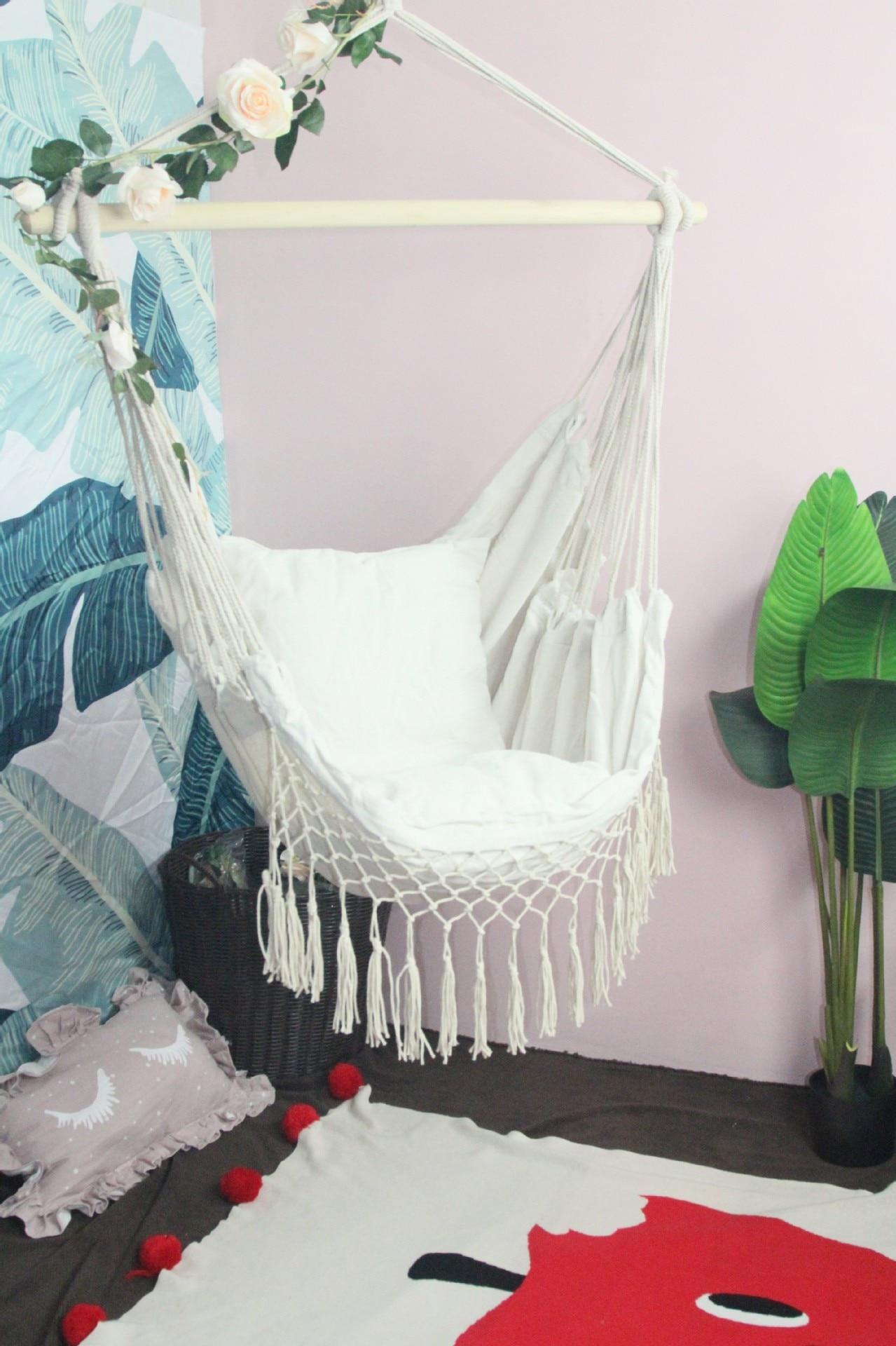 Variable gland chaise suspendue chaise hamac balançoire chambre meubles camping hamac chaise suspendue balançoire