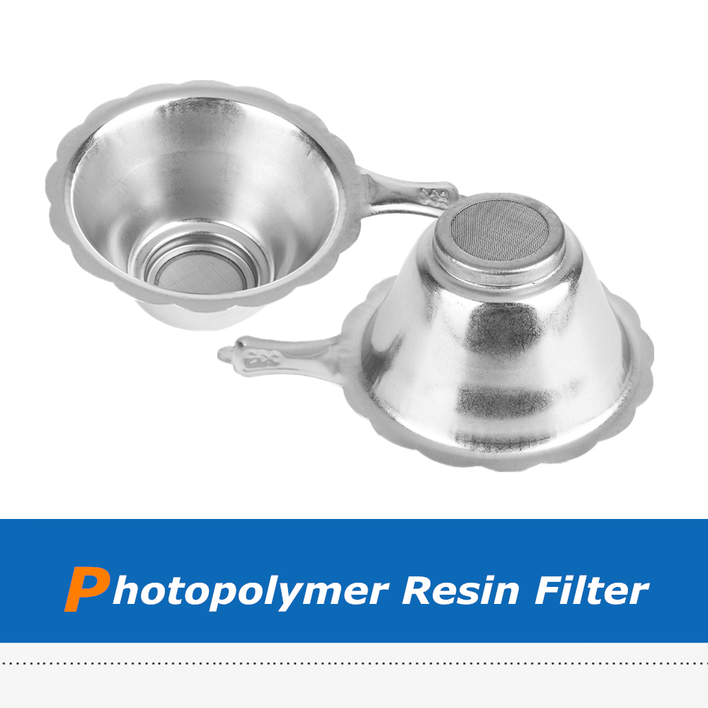 3D Printer Accessories Photosensitive Resin Metal Filter Funnel for SLA//DLP