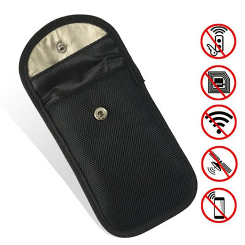 Auto Schlüssel Signal Blocker Beutel RFID//WIFI//GSM//LTE//NFC Blocker Handy Signal Blocking Fob schutz Signal Blocking Tasche Tasche