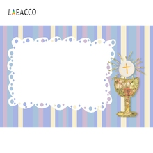 Laeacco Communion Decoration Party Chalice Pigeon Backdrop Photography Backgrounds Custom Photographic For Photo Studio