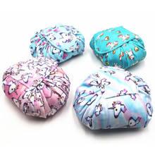 Women Unicorn Print Drawstring Cosmetics Storage Toiletry Bag Makeup Bag  Quick Pack Waterproof Travel Bag( 5e3dfefb81260