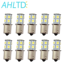 10X 1156 BA15S 1157 BAY15D P21 5W BA15D 13Led 5050 Auto Led Turn Signal Lights Brake Tail Lamps Rear Reverse Bulbs DC 12V