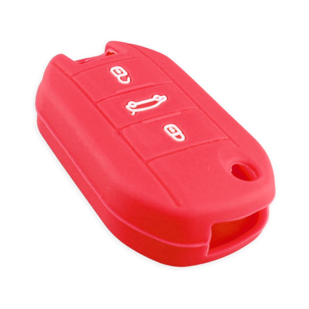 Image 5 - KEYYOU For Peugeot 508 301 2008 3008 408 For Citroen C4 CACTUS C5 C3 C4L Remote Car Key Shell Case Silicone Cover Bag 3 Buttons-in Key Case for Car from Automobiles & Motorcycles