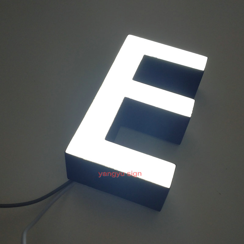Outdoor advertisign 3D channel letter  Epoxy resin small wall letters|LED Modules| |  - title=
