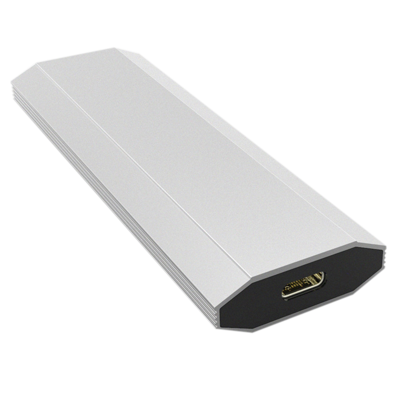 Nvme Pcie M.2 Ssd To Usb 3.1 Type C 10Gbps External Aluminum Cooling Case, 2242 2280 Pci-E M2 M-Key Ngff Hdd Card Reader AdaptNvme Pcie M.2 Ssd To Usb 3.1 Type C 10Gbps External Aluminum Cooling Case, 2242 2280 Pci-E M2 M-Key Ngff Hdd Card Reader Adapt