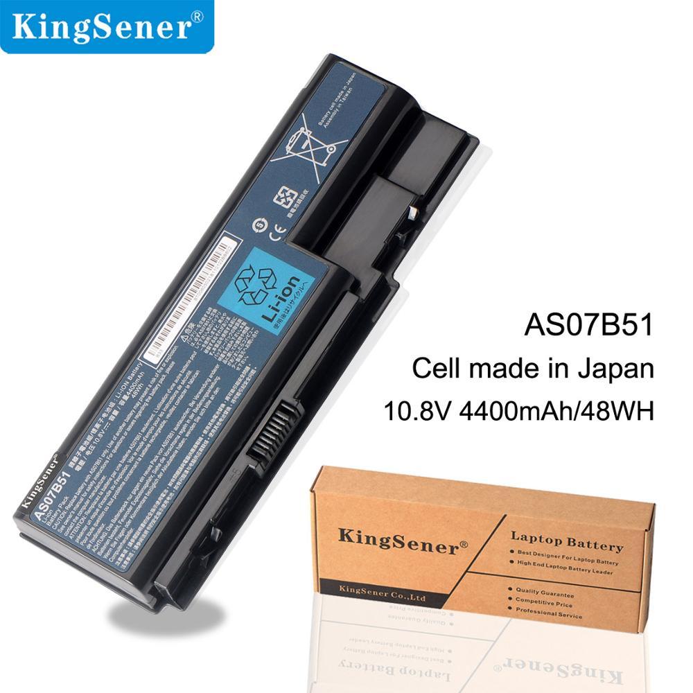 KingSener 6 cellules 4400 mah/48WH AS07B51 Batterie D'ordinateur Portable Pour Acer 6930g 8530g 8920g 8940g 5940g 5942g 7530 7540g AS07B41 AS07B42