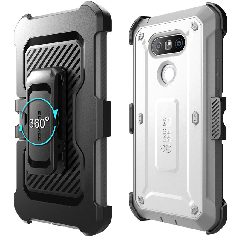 Image 5 - SUPCASE For LG G5 Case 5.3 inch UB Pro Full Body Rugged Holster Clip Protective Phone Case Cover with Built in Screen ProtectorFitted Cases   -