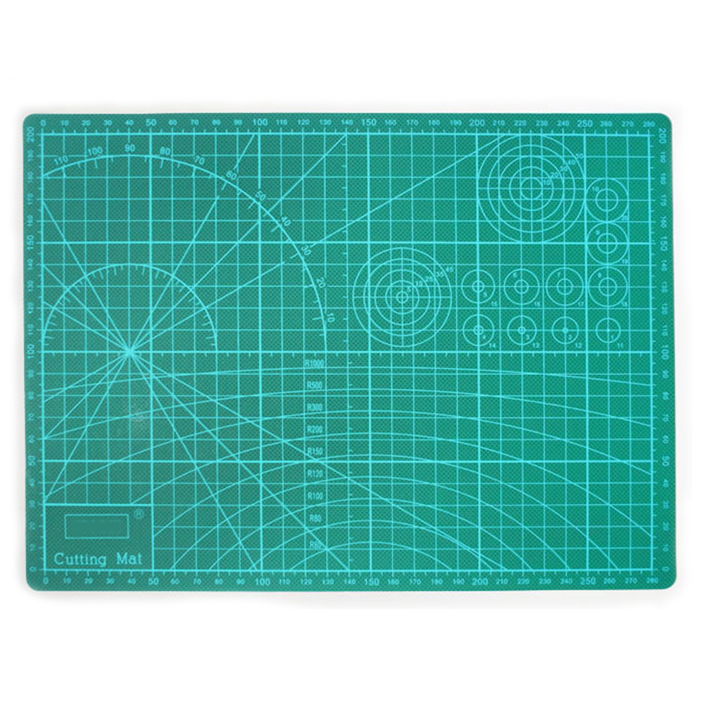 Professional Double Sided Durable Non-Slip Rotary Mat For Scrapbooking, Quilting, Sewing-3mm Thick  A4 22*30mm 8.6
