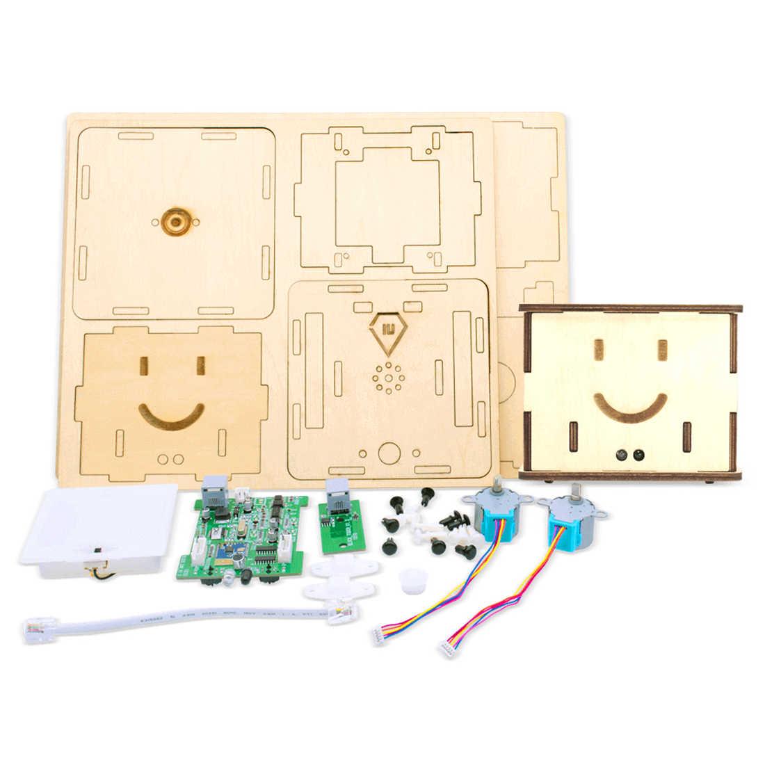 Rowsfire 1 Набор DIY сборка графическое Программирование строительные блоки робота образовательный стебель Паровая игрушка набор для детей-Burlywood