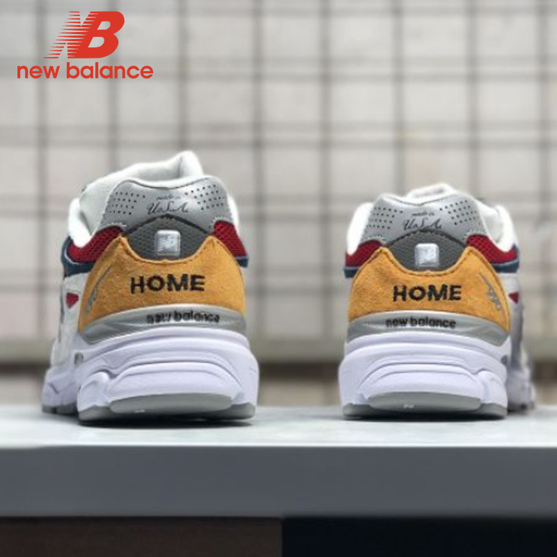 reputable site cdede 66d67 US $64.49 16% OFF|New Balance Nb990 Men's Badminton Shoes Lace Up Outdoor  Sneaker Hot Sale-in Badminton Shoes from Sports & Entertainment on ...
