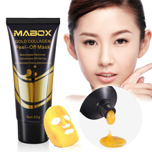 Gold Collagen Peel Off Facial Mask Blackhead Removal Toiletry Kits Health