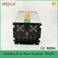 24VDC к 120VAC InverterMKM3000 241G изменение синусоида 3000 Вт Инвертор, мощность Инвертор продажи инвертор с usb порты и разъёмы