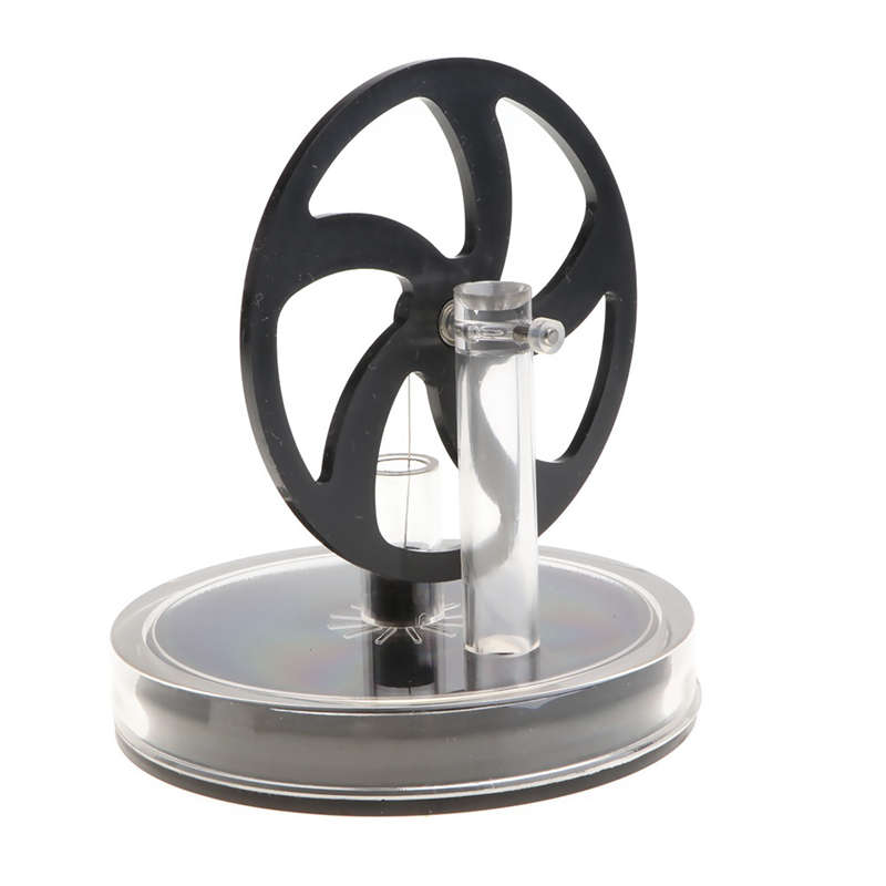 Low Temperature Stirling Engine Abs Flywheel Running Motor Educational Toy Conversion Of Heat Energy To Mechanical Work