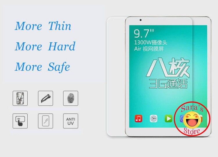9H HD  Premium Tempered Glass Screen Protector Guard Film For Chuwi HI8 SE