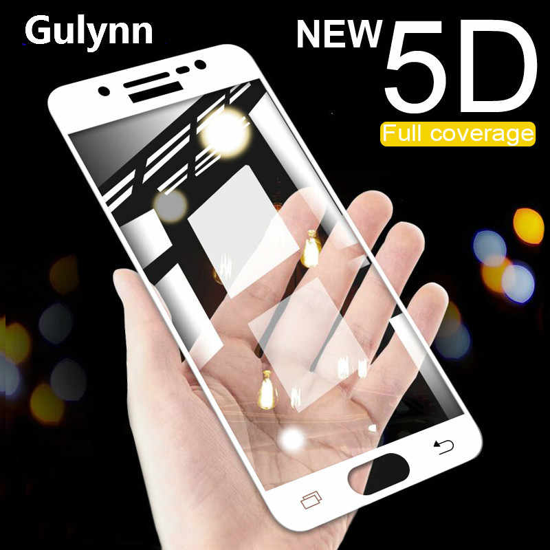 5D Full cover protective film for samsung galaxy J310 J510 J710 2016 version 9H anti Burst screen protector S7 J3 J5 J7 2017 EU
