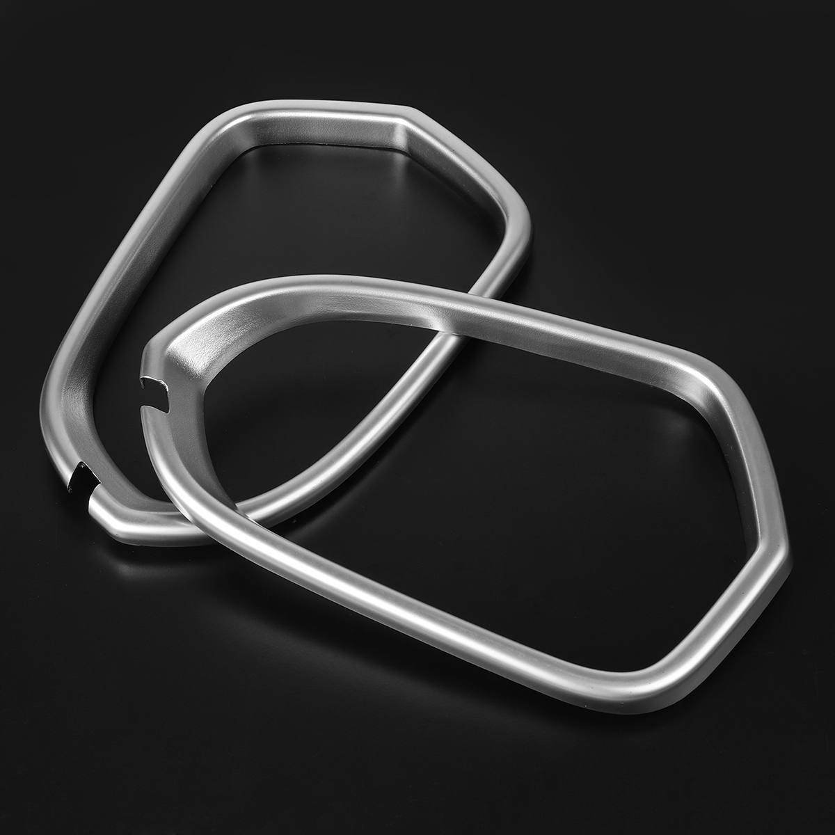 2Pcs Chrome Door ABS Rearview Mirror Decorator Frame Cover Trim For <font><b>Audi</b></font> <font><b>A6</b></font> C7 2012 2013 <font><b>2014</b></font> 2015 2016 2017 Cover Sticker image