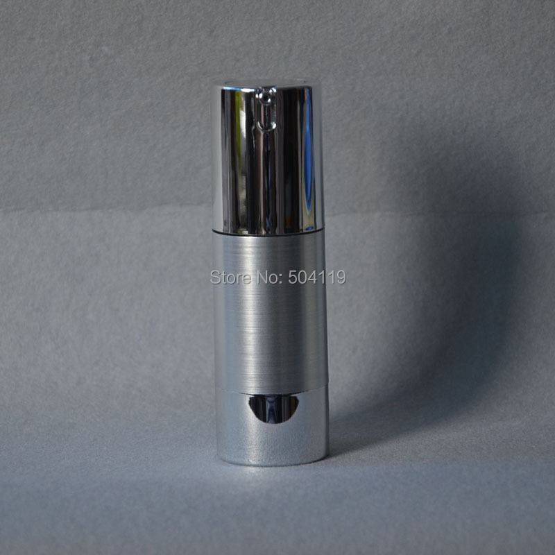 30ml airless bottle with uv gold silver vacuum pump or lotion bottle used for Cosmetic Container