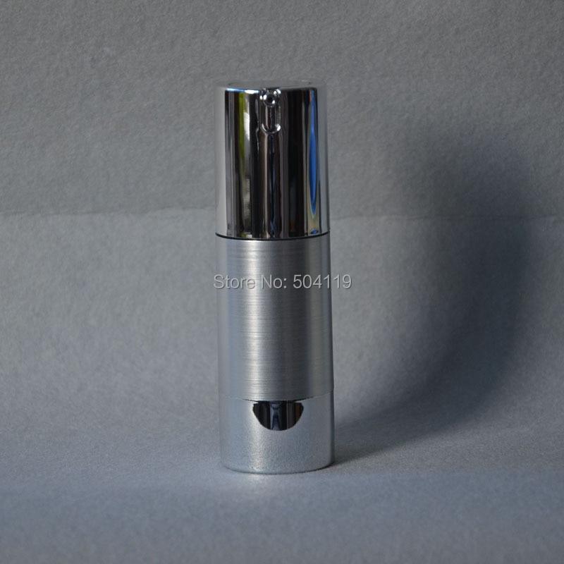 30 ml butelka bezpowietrzna z uv złoto srebro pompa próżniowa lub balsam do butelek do pojemników kosmetycznych w Butelki wielokrotnego użytku od Uroda i zdrowie na AliExpress - 11.11_Double 11Singles' Day 1