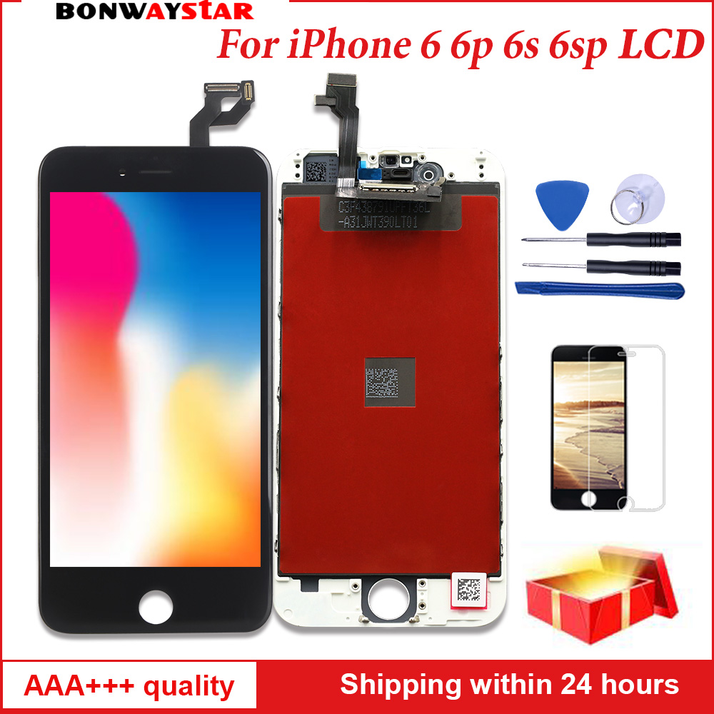 AAA LCD Screen For iPhone 6 6s plus Display Assembly Replacement with Original Digitizer Phone Parts for iphone 6 7 LCD Pantalla iphone
