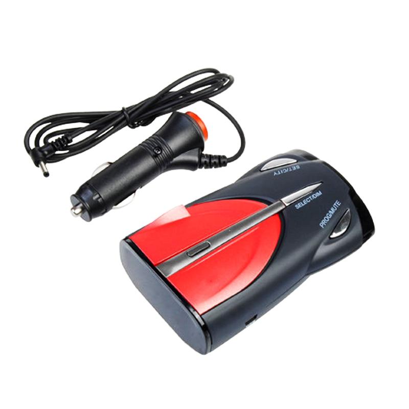 Car 16-Band Detection Function Voice Alert Cobra Radar Detector XRS 9880  Laser Anti Radar Detectors 360 Degree