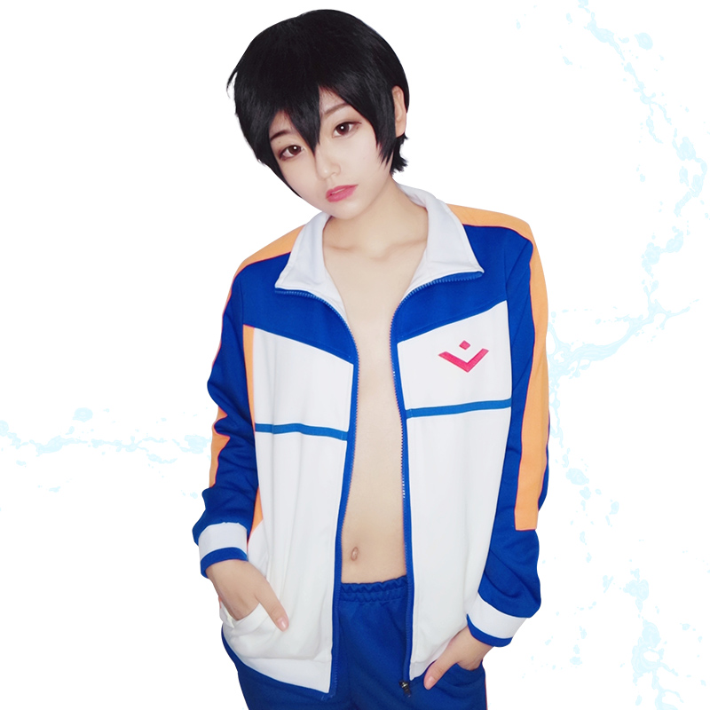 Milky Way Anime Free Iwatobi Swim Club Nanase Haruka Costume Hazuki Nagisa Jacket Unisex Hoodie Men Women High School Sport Wear