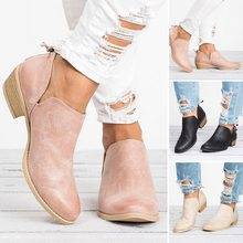 92b92c87f24f7c Laamei Neue Herbst Frauen Stiefel Weibliche Quadratische Ferse Slip auf  Frauen High heels Schuhe Spitz Casual Damen Mode Schuhe .