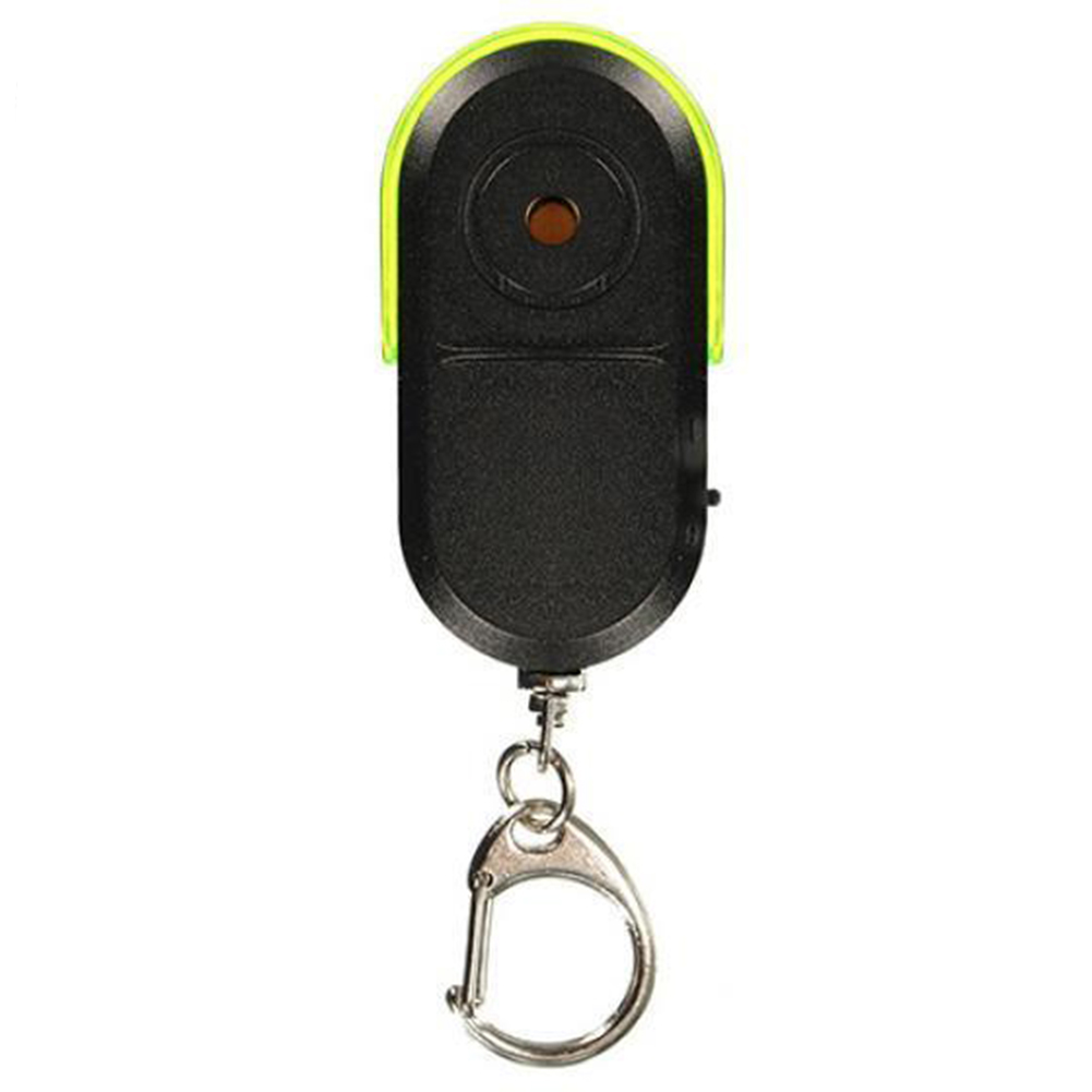 Whistle Sound Led Light Anti-lost Alarm Key Finder Locator Keychain Device Random Color Modern And Elegant In Fashion Security Alarm