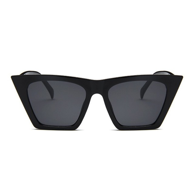 Female Vintage Sunglasses Women/Men Fashion Cat Eye Luxury Sun Glasses Classic Shopping Lady Black Oculos De Sol UV400