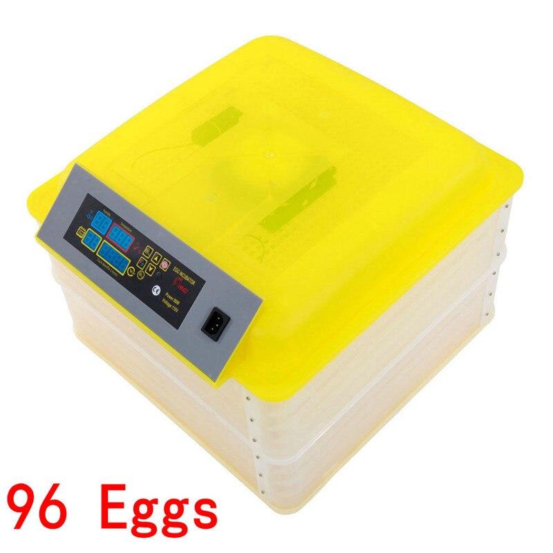 96 oeuf Incubateur Numérique Entièrement Automatique Mini Oeufs D'incubation Tournant Machine