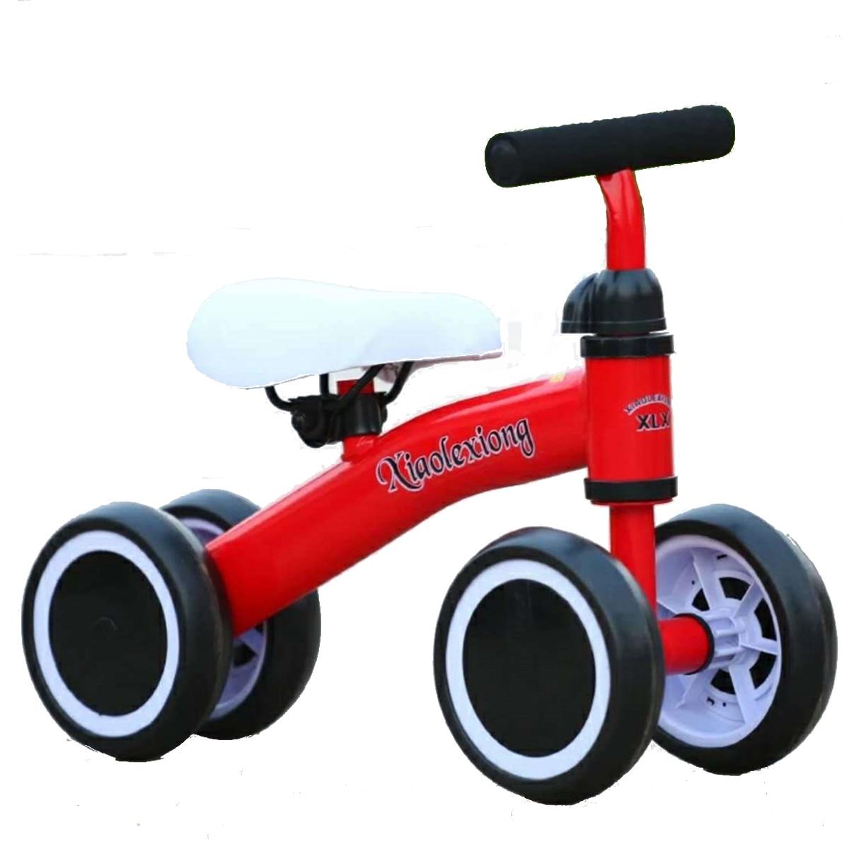 Enfants trois roues Balance vélo enfants Scooter bébé marcheur 1-3 ans Tricycle vélo tour sur jouets cadeau pour bébé jouets