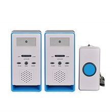 JABS Home 2 In 1 Wireless Patient Emergency Care Pager Alert Call Button Elderly Monitor For Old People Or Sick Person