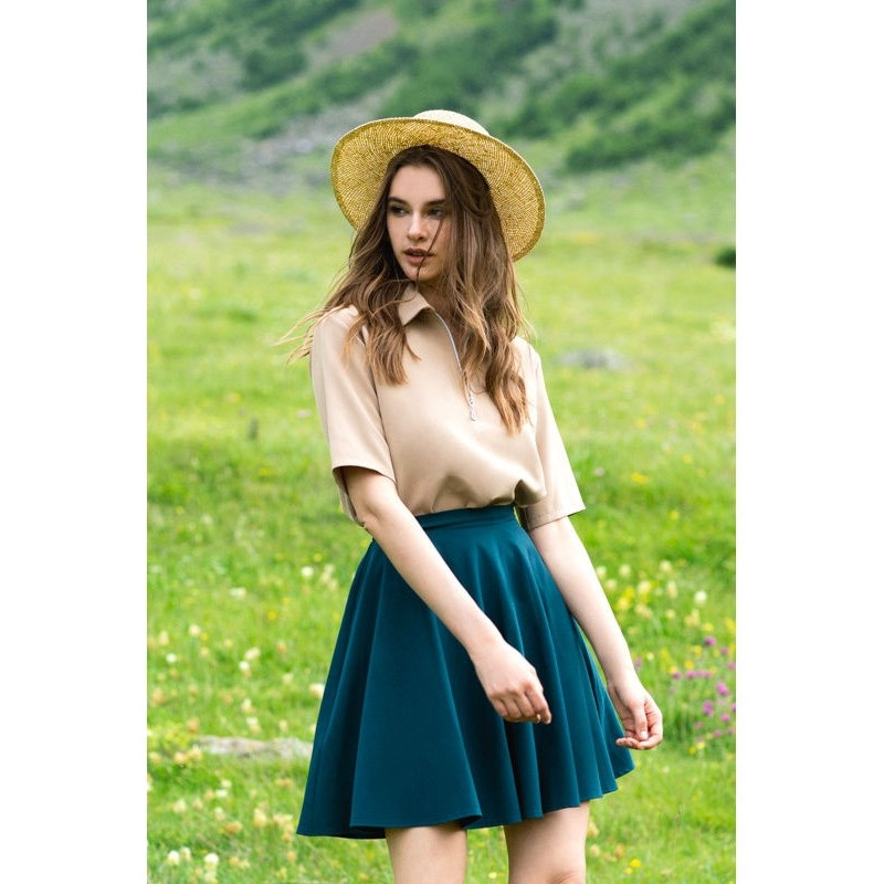 Blouse C.H.I.C female CHIC TmallFS summer blouse dioxide blouse