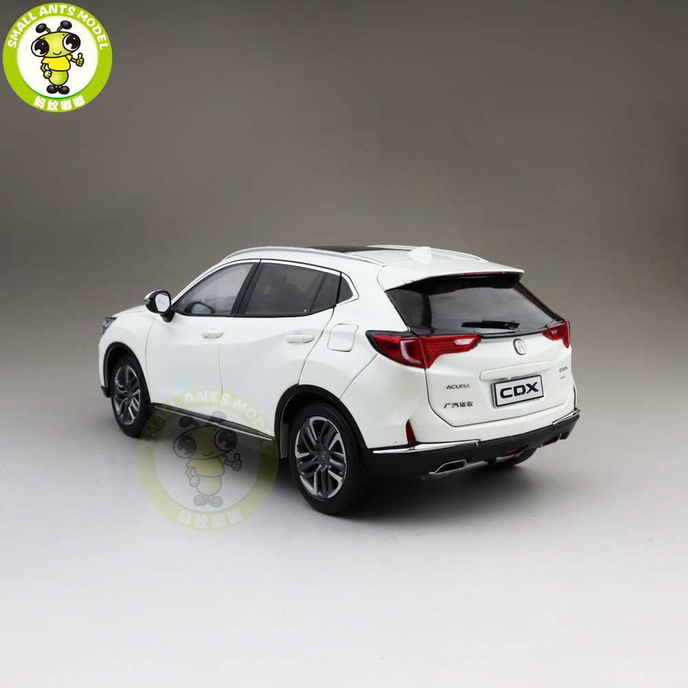 1/18 ACURA CDX SUV Diecast Metal Car SUV Model Toys For