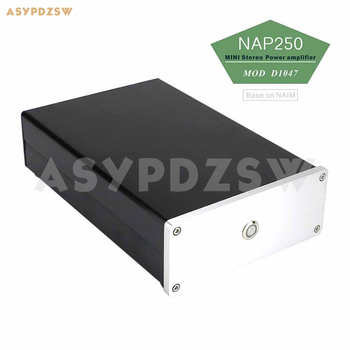 Complete NAP250 MOD D1047 MINI Stereo Power amplifier Base on UK NAIM circuit