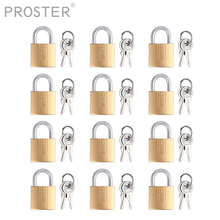 PROSTER 12PCS U-lock Keller Copper Padlo