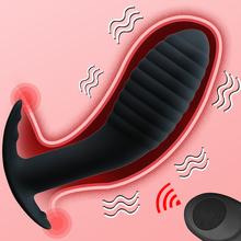 10 Speed Wireless Remote Anal Plug Dildo Vibrator Adult Sex Toys Prostate Massage Butt Plug Anus Pussy Masturbator for Men Women cheap BOMBOMDA Silicone S08748-40 G-Spot anal plug Vibrators