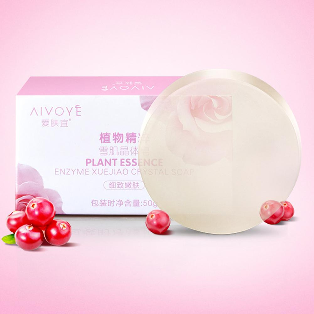 Fancy 50g Privates Whitening Crystals Enzyme Active Natural Body Soap Labia Removal Melanin Labia Perineum Armpits