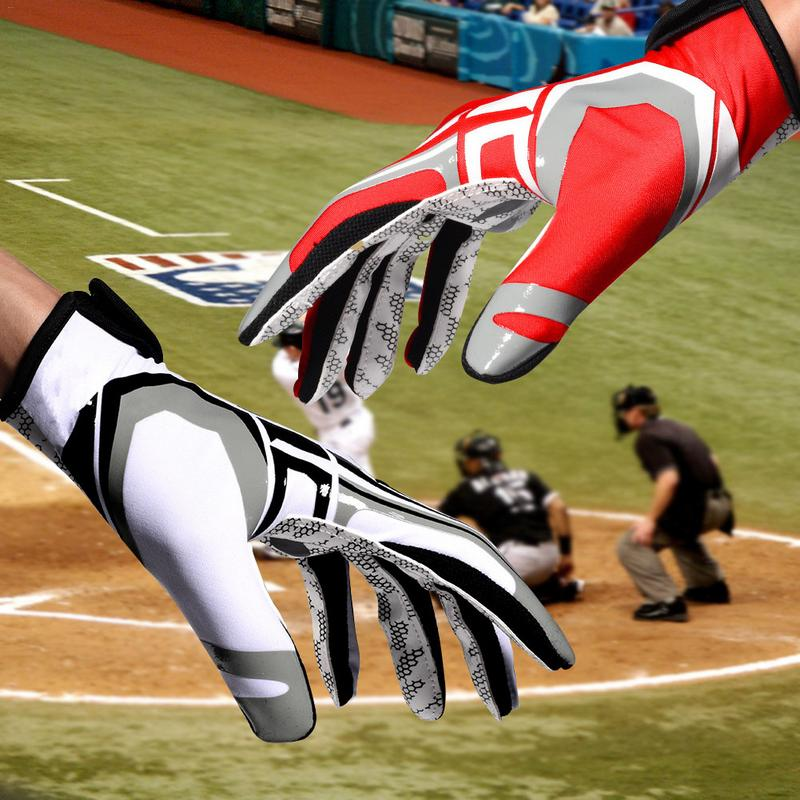 Heilsa Baseball Gloves Batting Gloves Non-Slip Wear-Resistant Breathable Adult Sports Gloves For Men And Women