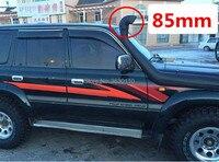 Black Car Air Intake Ram Fit Off Road Replacement Mudding Snorkel Head Air Intake Ram For Landcruiser VDJ76/VDJ78/VDJ79 New