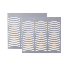 цена на 72Pcs Invisible Fiber Double Side Adhesive Eyelid Stickers Technical Eye Tapes Eyelid Tools