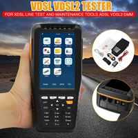 TM 600 VDSL VDSL2 Tester ADSL WAN & LAN Tester xDSL Line Test Equipment DSL Physical Layer Test ADSL2 ADSL2+